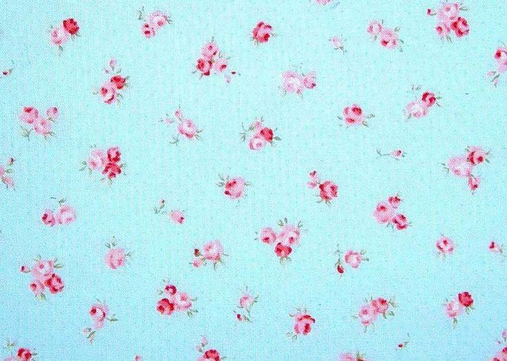 Stoff Blumen - Patchworkstoff - ein Designerstück von HE-RO bei DaWanda