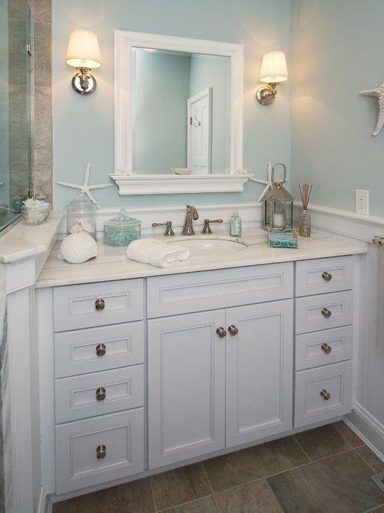 beach cottage bathroom ideas calm #beachcottagestylebathroom