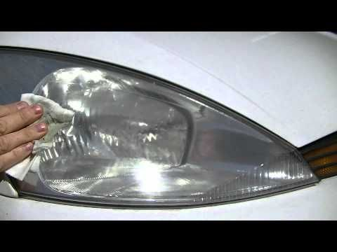 how to clean car headlights youtube