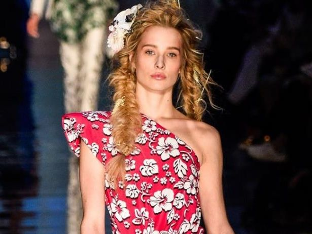 Ilona Smet - Défilé de mode Jean-Paul Gaultier collection Haute Couture Printemps/Eté 2017 lors de l... - BestImage