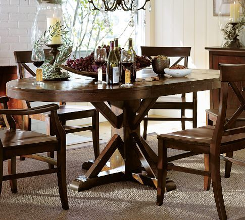 17 best images about kitchen table on pinterest pedestal dining table furniture and dining bench. Black Bedroom Furniture Sets. Home Design Ideas