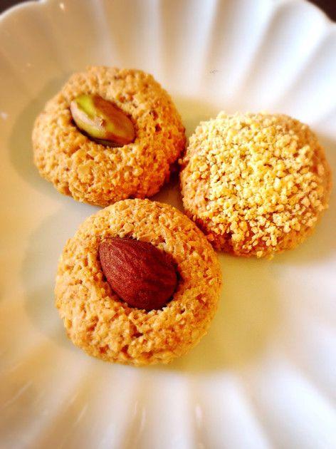 甘味ゼロ!香ばしいザクザククッキーです♡