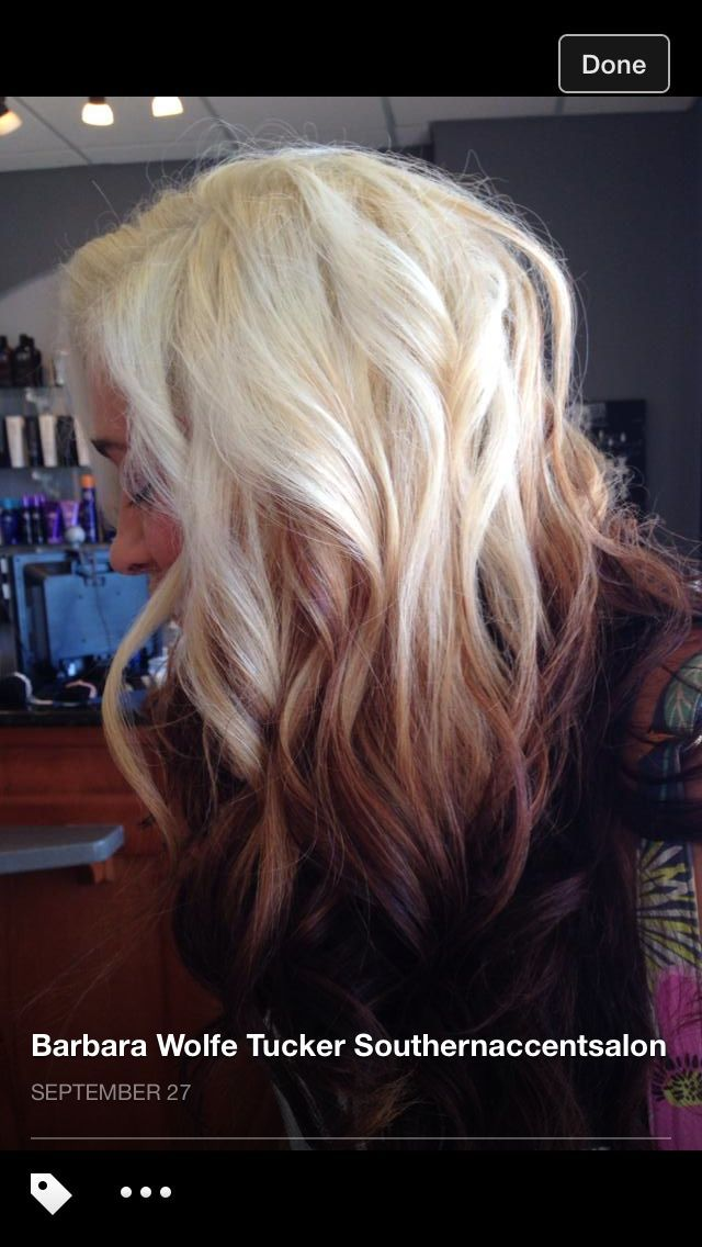 1000 Ideas About Blonde To Burgundy On Pinterest Red