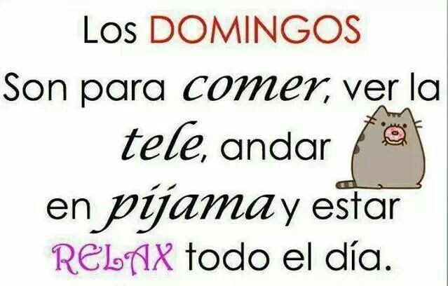 #Domingo #Relax