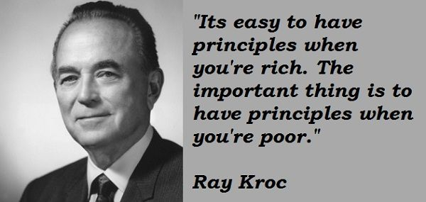Ray kroe quotes - Google Search