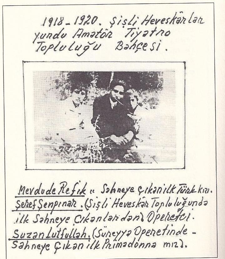 İstanbul Kadın Müzesi - Mevdude Refik (Tepedelen)Şeref Şenpınar, Gülriz Sururi'ye teyzesi Mevdude Refik Hanım'la ilgili bildiklerini anlatıyor.