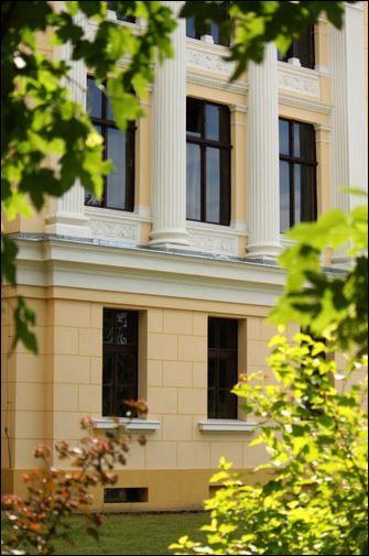 z tych okien roztacza się wspaniały, zielony widok