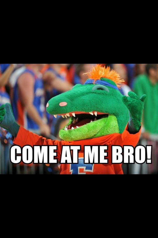 UF #GrowUpGator - ALBERT!!!!