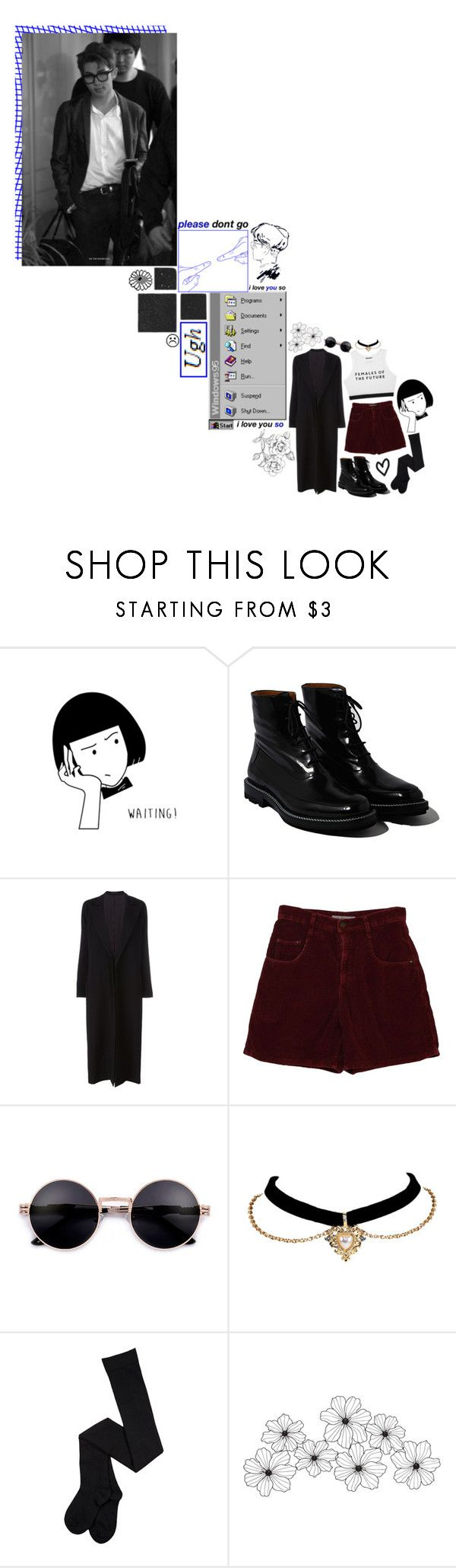 """WHERE DID WE GO WRONG?"" by johnuhope ❤ liked on Polyvore featuring Jil Sander, Yohji Yamamoto, WALL, kpop, bts, bangtan, rapmonster and Namjoon"