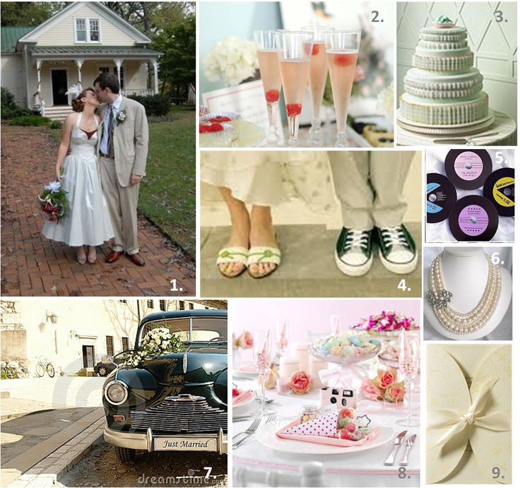117 best Rockabilly Wedding Ideas images on Pinterest Rockabilly