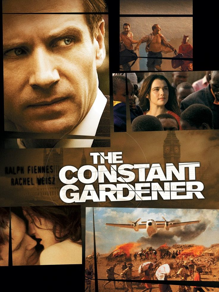 The Constant Gardener is a smart, gripping, and suspenseful thriller with rich performances from the leads.