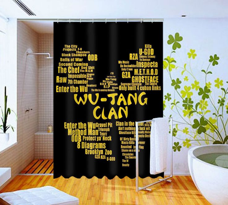 Hot New Wu tang Quotes  High Quality Custom Shower Curtain 60 x 72 #Unbranded #Modern #Unbranded #Modern #BestQuality #Cheap #Rare #New #Latest #Best #Seller #BestSelling #Cover #Accessories #Protector #Hot #BestSeller #2017 #Trending #Luxe #Fashion #Love #ShowerCurtain #Luxury #LimitedEdition #Bathroom #Cute #ShowerCurtain #CurtainGift