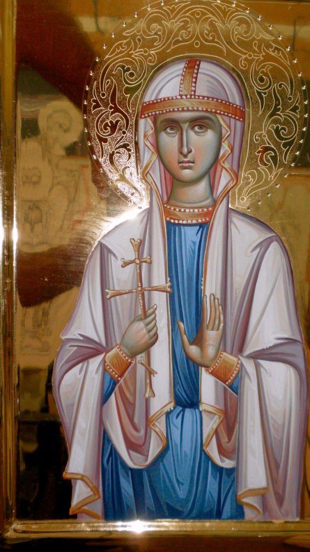 Aγ.ΝΙΝΑ Ισαπόστολος (296 - 335) - 14 Ιανουαρίου St. Nina of Georgia