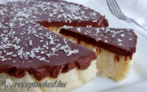 Kókuszos tejbegríz torta recept fotóval