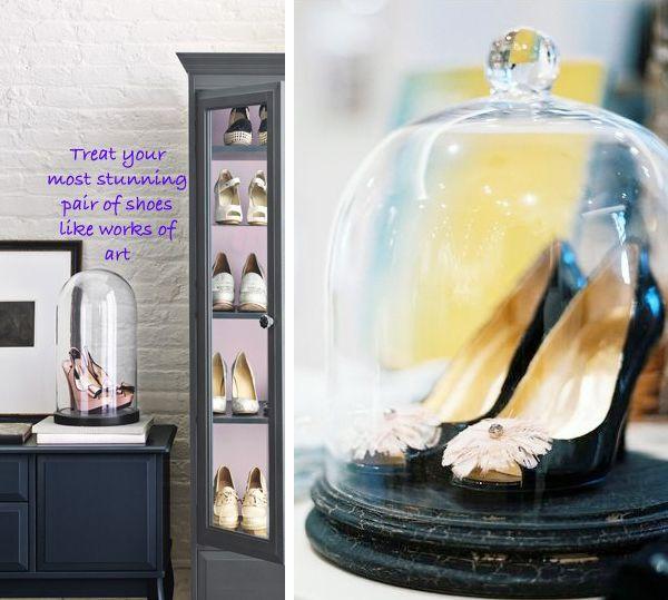 treasures: Belle Jars, Work Of Art, Wedding Shoes, Shoes Display, Amazing Closet, Shoes Storage, Shoes Organizations, Shoes Art, Future Wedding