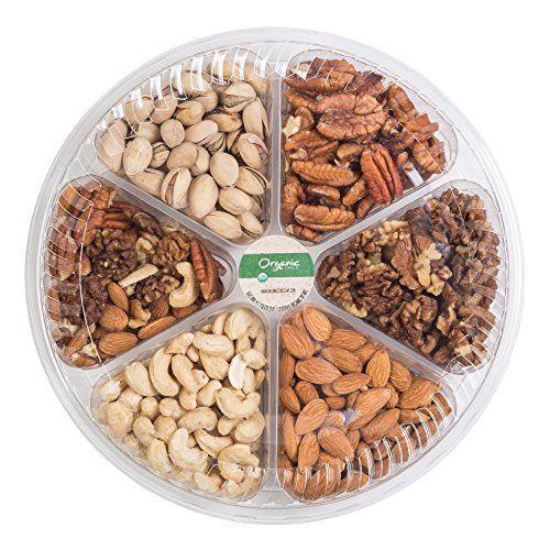 Gourmet Food Fresh Organic Nuts Gift Basket - http://mygourmetgifts.com/gourmet-food-fresh-organic-nuts-gift-basket/