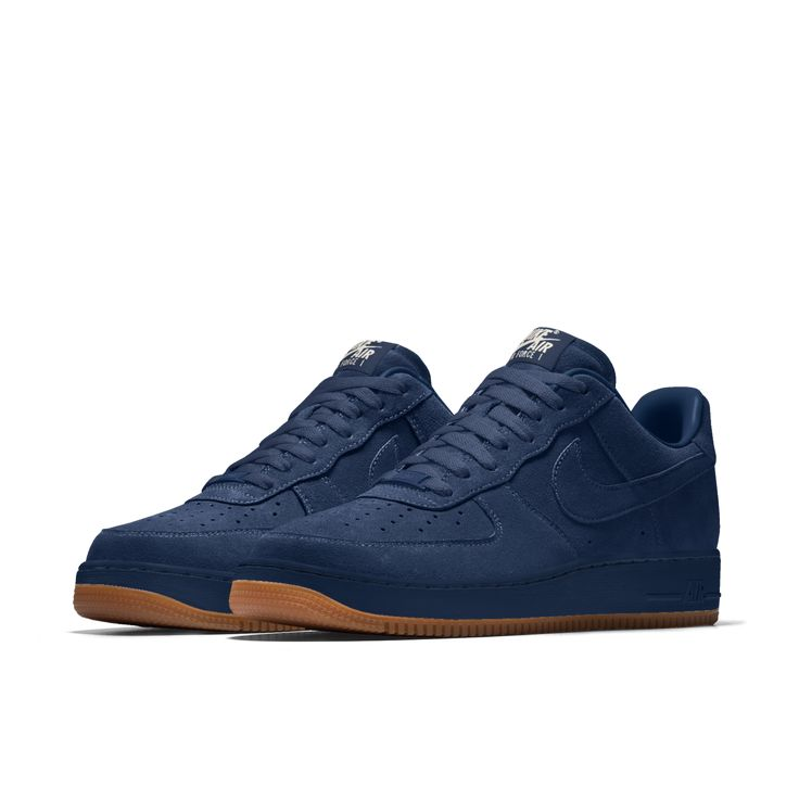 Nike Air Force 1 Low Premium iD Men's Shoe Size 9.5 (Blue)