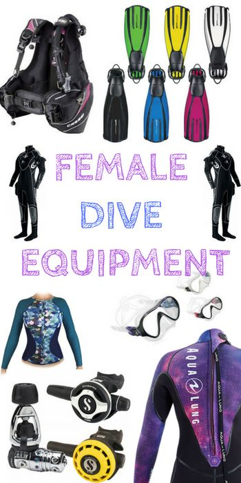 Yes, we do need our own specific gear, and yes we do kind of love shopping for it. Here is every piece of scuba dive equipment you could need as a dedicated Girl that Scubas.