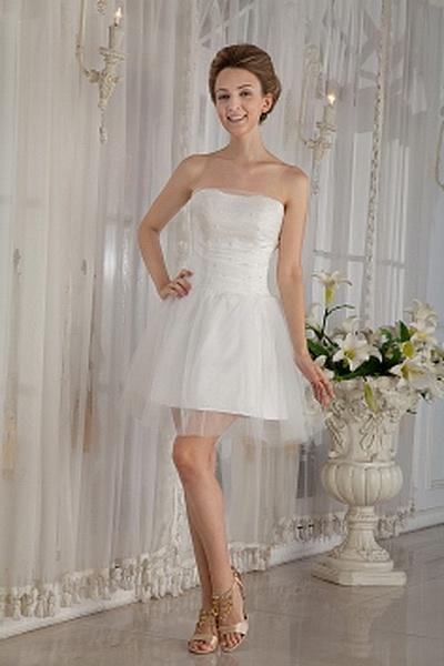 Tüll Modernen Liebsten Brautkleider ba0056 - http://www.brautmode-abendkleid.de/tull-modernen-liebsten-brautkleider-ba0056.html - Ausschnitt: Sweetheart. Stoff: Tüll. Ärmel: Ärmellos. Farbe: Weiß. Silhouette: A-Line. - 188.59