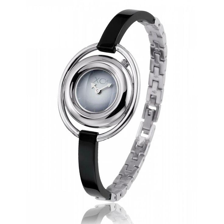 Ladies stainless steel ANNEAU black watches - Xc38