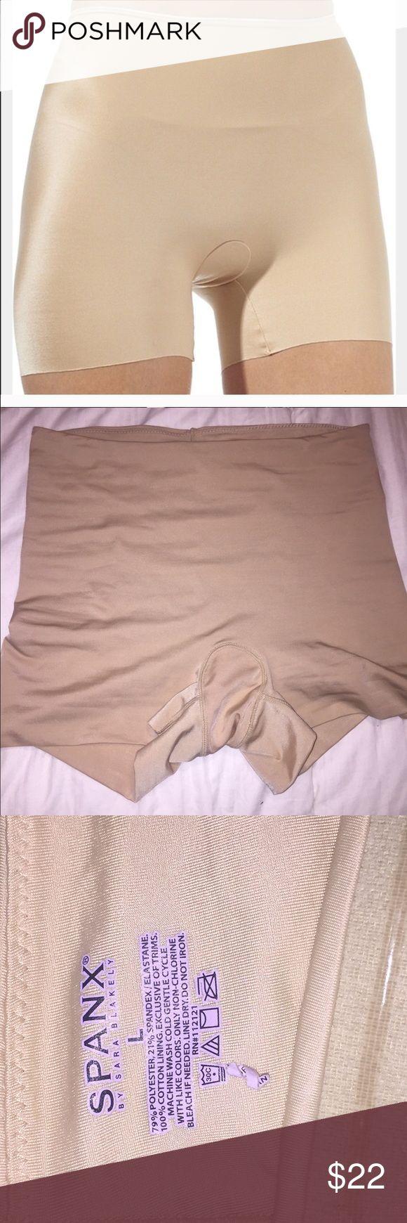 SPANX size large No snags inseam is 2.5 SPANX Intimates & Sleepwear Shapewear