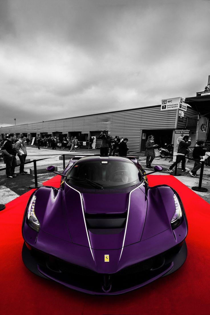 Purple laferrari