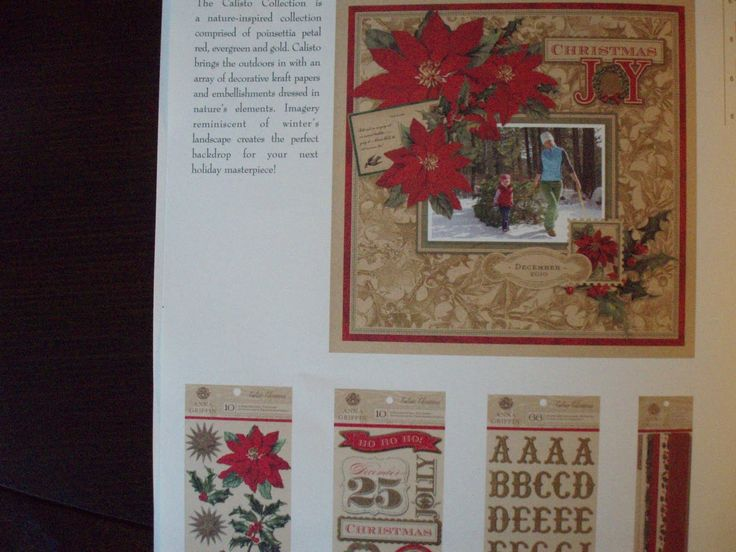 "anna griffin calisto christmas card kit ideas | Cosmo Cricket's Collection: ""Mitten Weather"""
