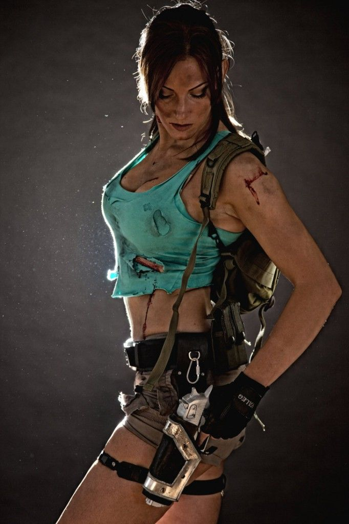 Lara Croft Tomb Raider: Beach 2 by JennCroft on DeviantArt