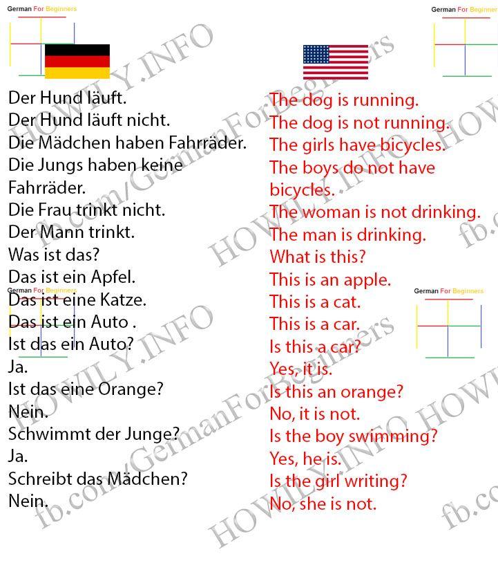 369 best Deutsch lernen images on Pinterest | Deutsch lernen ...