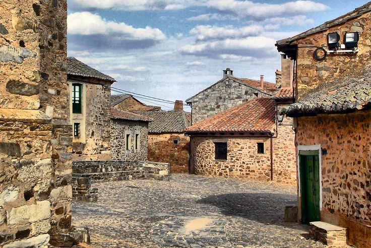 Castrillo de los Polvazares, León, Camino de Santiago