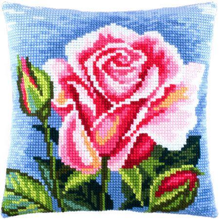 """Купить """"Роза Z-31"""". Производитель: Чарівниця. Раздел: Наборы для вышивки подушек крестом/Вышивание"""