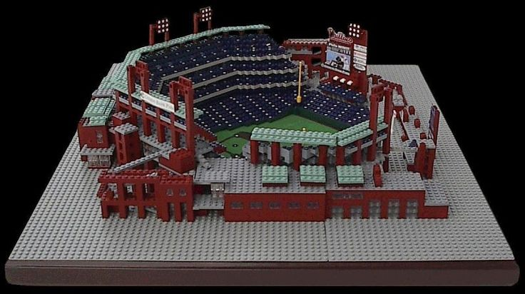 Citizens Bank Park by Jason Burik (Burik Model Design