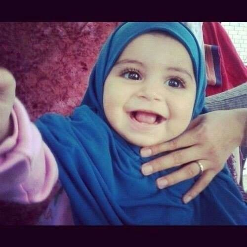 cute baby muslim girl cute and kawaii pinterest cute