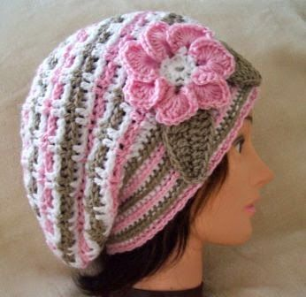 Mothers Beret Free Crochet Hat Patterns