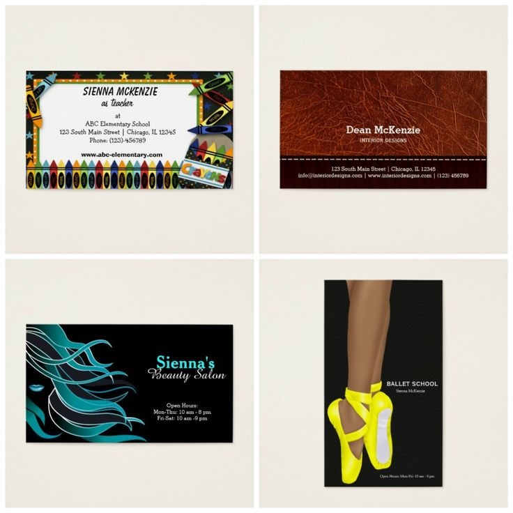 Flash #deal TODAY only (3/8) 50% off #businesscards Use #coupon Code: ZAZFLASHSAVE - I do have lots of theme #teacher #school #leatherlook #hairstylist #hairdresser #ballerina etc.  Check more at www.zazzle.com/celebrationideas &www.zazzle.com/graphicdesign | Check all #sales #coupons at bit.ly/AllSalesCoupons