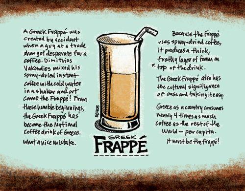 Greek Frappe!