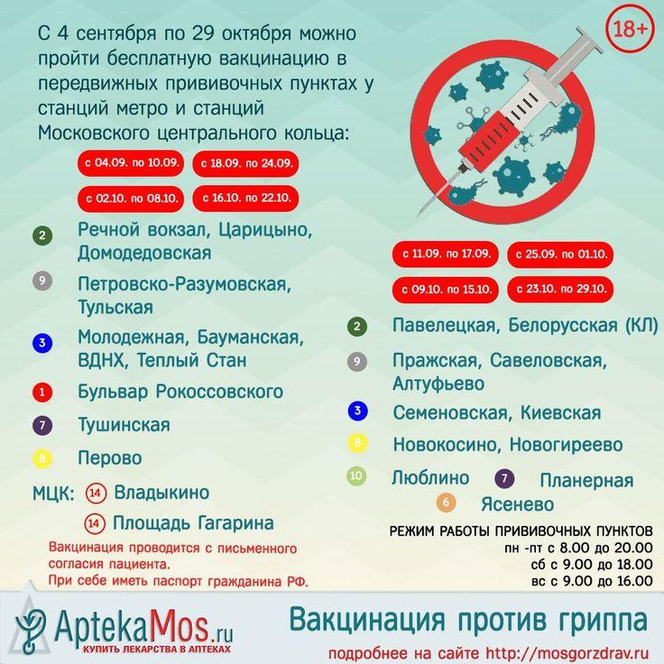 Бесплатную прививку от гриппа можно будет сделать у метро и МЦК https://aptekamos.ru/novosti  #holiday #enjoy #лето #москва #free #бесплатно #входсвободный #moscow #аптекамос #aptekamos #like4like #lifestyle #вакцинация #зож #здоровье #грипп