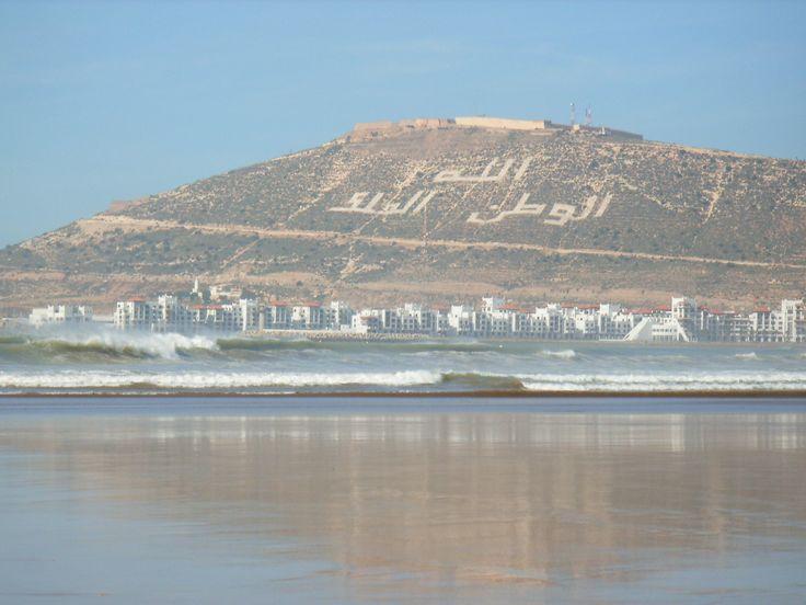At the #beach in #Agadir, #Morocco.