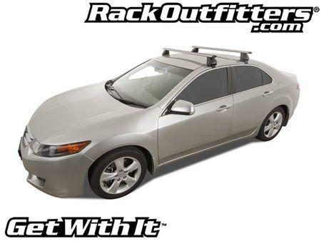 Honda Accord Rhino Rack 2500 Aero SILVER Base Roof Rack U002713 U002716