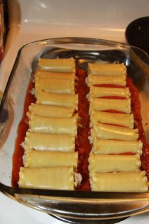 For the Love of Food: Ragù Sausage Stuffed Jumbo Rigatoni Pasta Bake