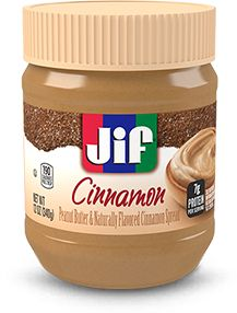Peanut Butter and Naturally Flavored Cinnamon Spread - Jif Peanut Butter