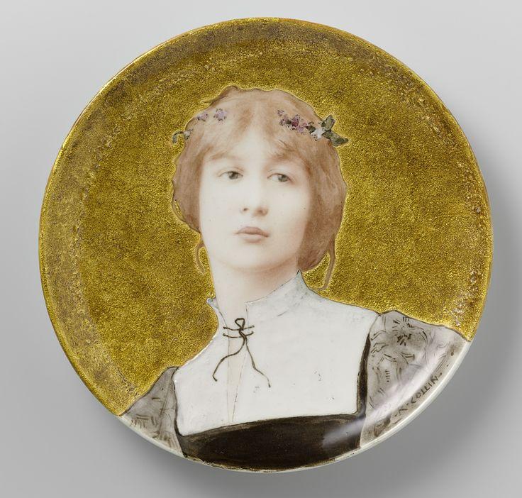 Decorative plate   Théodore Deck   c.1878 - c.1885   Rijksmuseum   Public Domain