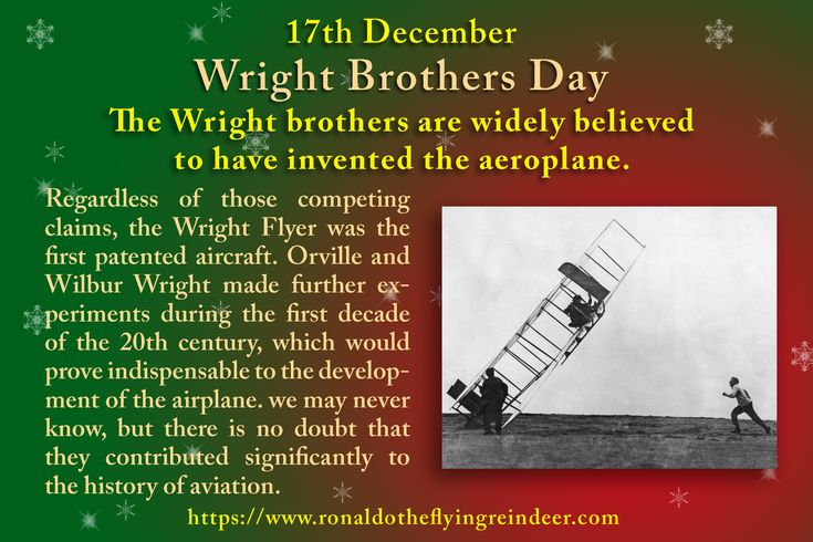 """#today 17th December is #WrightBrothersDay #MapleSyrupDay The Congress, by a joint resolution approved December 17, 1963, has designated December 17 of each year as """"Wright Brothers Day"""" #WrightBrothers #Airplane  #FirstFlight #Aeroplane #flight"""