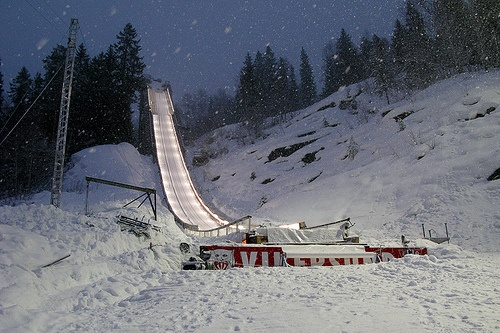 Vikersund flying hill