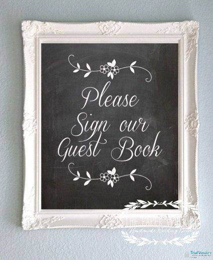 Hey, I found this really awesome Etsy listing at http://www.etsy.com/listing/126576814/chalkboard-wedding-sign-guest-book