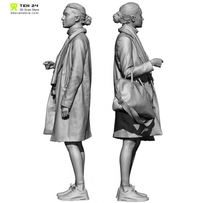 Colour Female 016 Pose 01 #character #scan #3dscan #anatomy #nimeshbaidhya