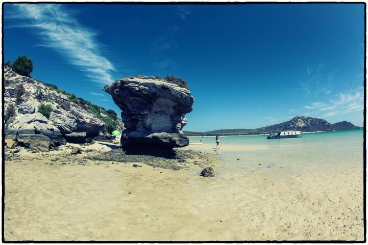 Die Preekstoel rock formation, Langebaan Lagoon - West Coast - South Africa #preekstoel #langebaanlagoon #langebaan