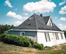 A house in Saskatchewan built of sod - meaning dirt! And, it's over 100 years old!