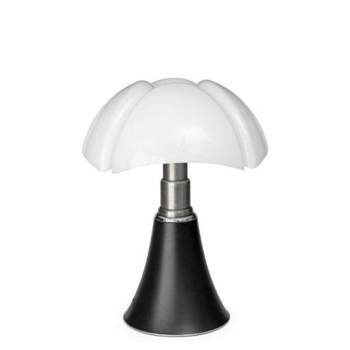 Lampe Mini Pipistrello noire de Martinelli Luce, l'originale indémodable version…