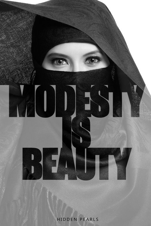A woman's beauty does not need to be on display, she can be beautiful even covered. I cover for the sake of Allah. #Islam #muslim #muslimah #hijab #niqab #modesty